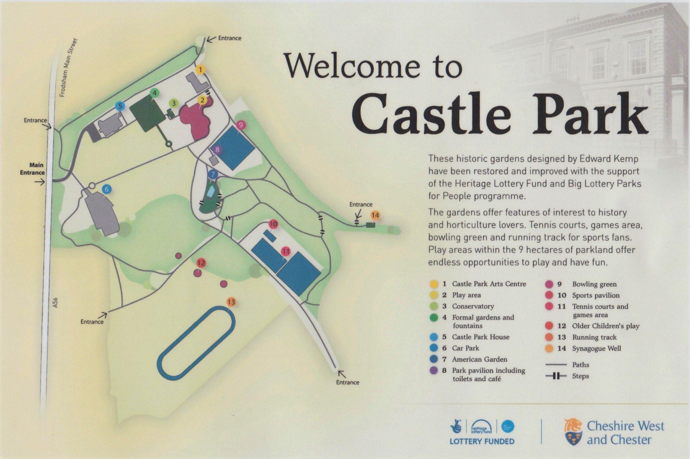 Map of Castle Park