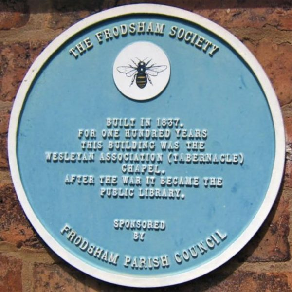 frodsham blue-plaque 02 public library high street