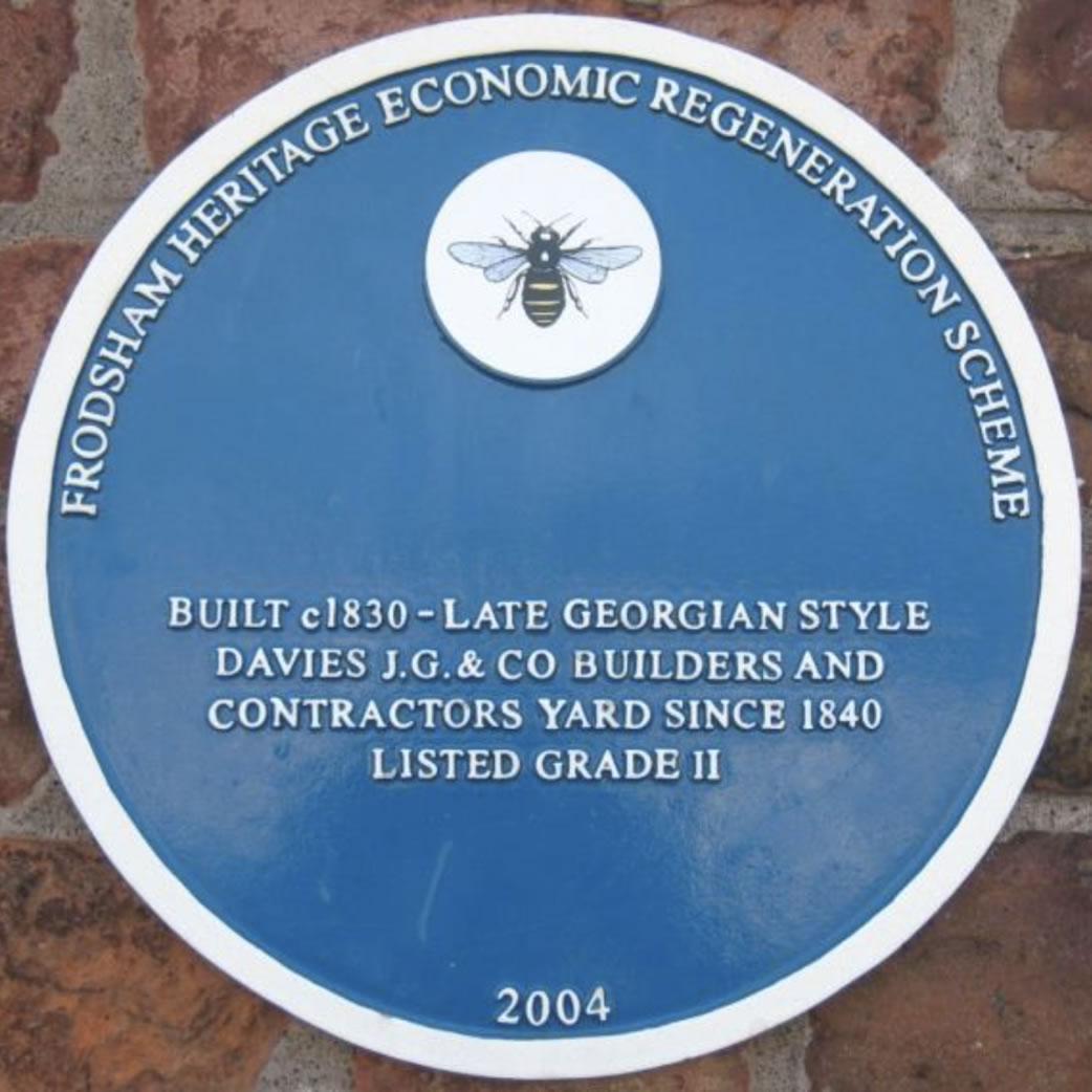 frodsham blue plaque 15 brook house 38 main street